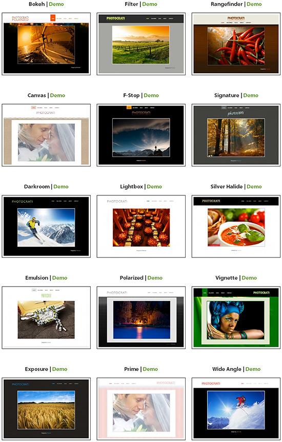 Photocrati - szablony wordpress dla fotografów, fotoblog