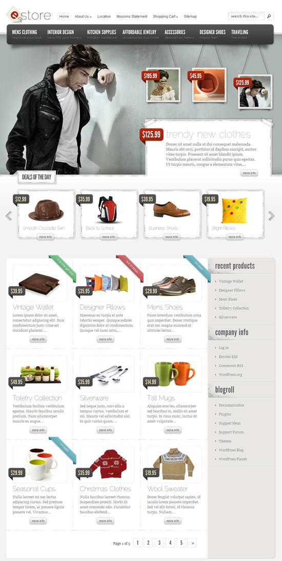 eshop - sklep internetowy na wordpress