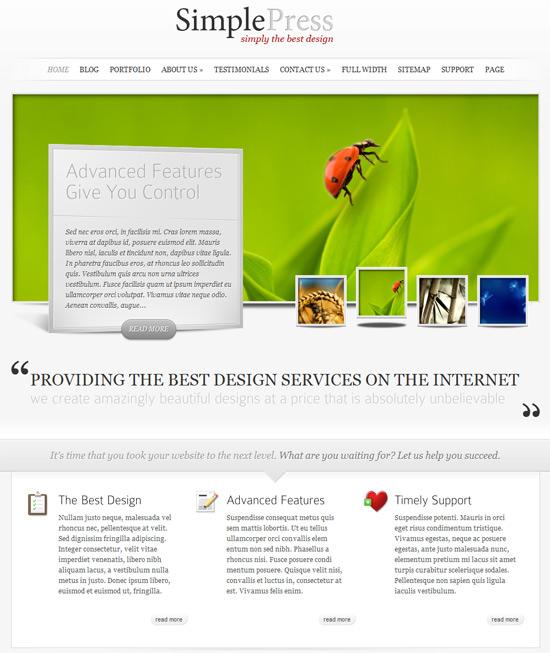 Elegant Themes - świetne szablony wordpress