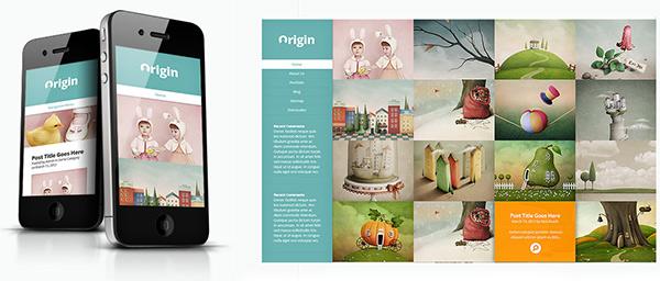 Elegant Themes - wersja mobilna