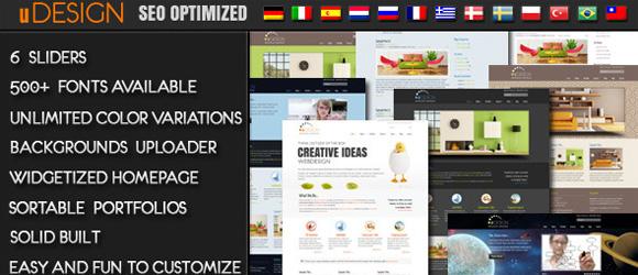 U-Design – najpopularniejszy szablon z ThemeForest