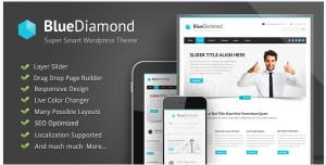 bluediamond - wordpress theme