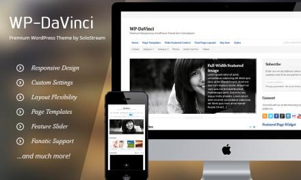 WP DaVinci 2.0 – elegancki portal informacyjny