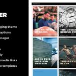 Writer – szablon dla pisarzy, felietonistów i dziennikarzy