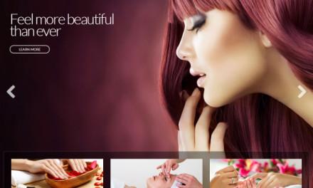 Beaute – szablon dla salonów piękności, zdrowia i urody