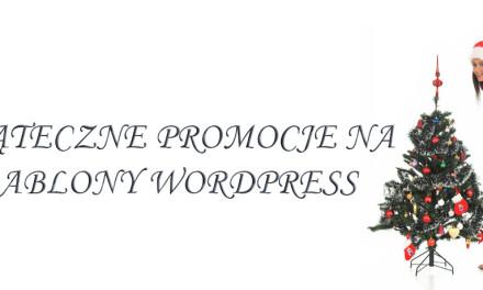 Świąteczne MEGA-Promocje na szablony WordPress